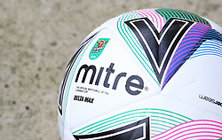 A general view of the Carabao Cup official mitre match football - Mandatory by-line: Joe Dent/JMP - 05/09/2020 - FOOTBALL - Weston Homes Stadium - Peterborough, England - Peterborough United v Cheltenham Town - Carabao Cup