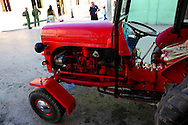 Tractor in Bayamo, Granma, Cuba.