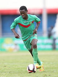 Nicholas Kipkirui of Zoo FC in action against Kariobangi Sharks during their Sportpesa Premier League tie at Nyayo Stadium in Nairobi on July 30, 2017. They drew 1-1. Photo/Fredrick Omondi/www.pic-centre.com(KENYA)