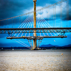 Bridges over the River Forth, Jan 2016