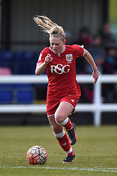 Millie Farrow of Bristol City Women - Mandatory by-line: Paul Knight/JMP - Mobile: 07966 386802 - 28/02/2016 -  FOOTBALL - Stoke Gifford Stadium - Bristol, England -  Bristol City Women v Yeovil Town Ladies - FA Cup fourth round