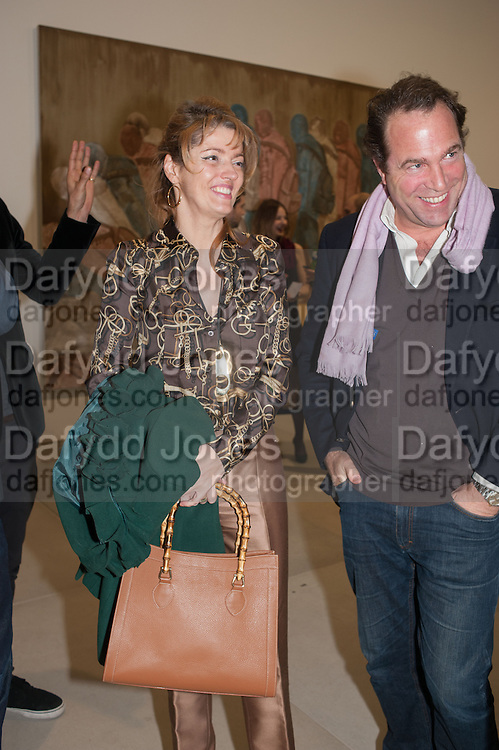 PETRONELLA WYATT; TOBY MOTT, Mandala for Crusoe, Exhibition of work by Francesco Clemente. Blain/Southern. Hanover Sq. London. 29 November 2012