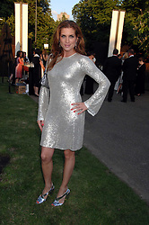 VANESSA NEUMANN at the annual Serpentine Gallery Summer Party in association with Swarovski held at the gallery, Kensington Gardens, London on 11th July 2007.<br /><br />NON EXCLUSIVE - WORLD RIGHTS