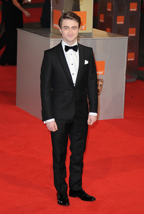 Daniel Radcliff attends the Orange British Academy Film Awards 2012 at the Royal Opera House, London, UK.. 12/02/2012 Anne-Marie Michel/CatchlightMedia