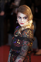 Beatrice Martin aka Coeur de Pirate at the gala screening for the film It's Only the End of the World (Juste La Fin Du Monde) at the 69th Cannes Film Festival, Thursday 19th  May 2016, Cannes, France. Photography: Doreen Kennedy