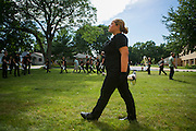Shadow Drum and Bugle Corps performs in Middleton, Wisconsin on July 10, 2016. <br /> <br /> Beth Skogen Photography - www.bethskogen.com