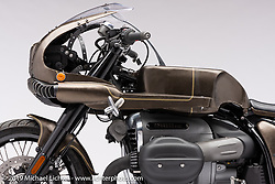 The Wal, a  BMW R18, Built by Shinya Kimura.  Photographed by Michael Lichter in Sturgis, SD. August 4, 2021. ©2021 Michael Lichter