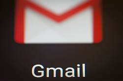 February 5, 2018 - Bydgoszcz, Poland - The Google Gmail mailing app is seen on an Android portable device on February 5, 2018. (Credit Image: © Jaap Arriens/NurPhoto via ZUMA Press)