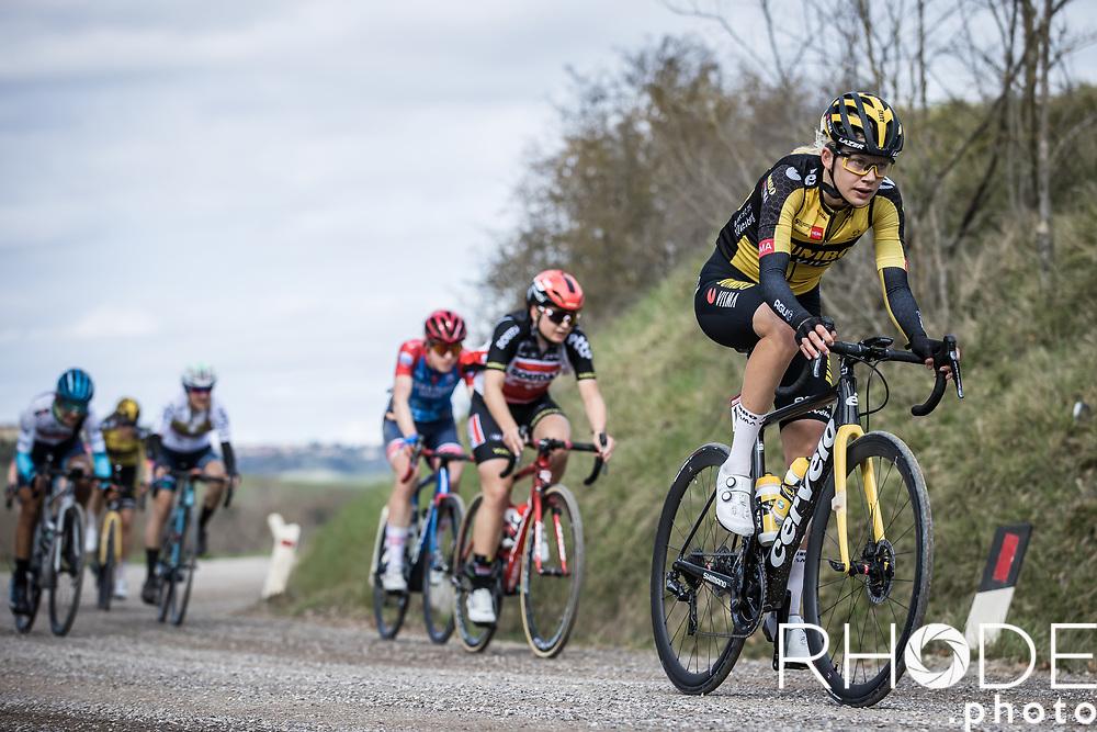 Aafke Soet (NED/Jumbo-Visma)<br /> <br /> 7th Strade Bianche Women Elite <br /> Siena > Siena 136km<br /> <br /> ©RhodePhoto