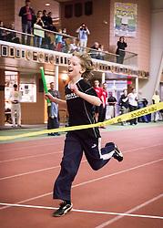 Bowdoin Indoor 4-way track meet: special kids relay race winner