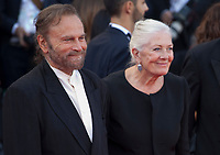 Vanessa Redgrave and Franco Nero at the First Man Premiere, Opening Ceremony and Lifetime Achievement Award To Vanessa Redgrave at the 75th Venice Film Festival, Sala Grande on Wednesday 29th August 2018, Venice Lido, Italy.