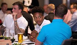 Bobby Reid of Bristol City mingles with guests during the Lansdown Club event - Mandatory by-line: Robbie Stephenson/JMP - 06/09/2016 - GENERAL SPORT - Ashton Gate - Bristol, England - Lansdown Club -