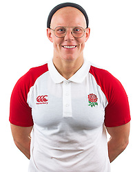 Heather Fisher of England Rugby 7s - Mandatory by-line: Robbie Stephenson/JMP - 17/09/2019 - RUGBY - The Lansbury - London, England - England Rugby 7s Headshots