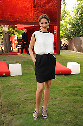 ASTRID MUNOZ at the annual Serpentine Gallery Summer party this year sponsored by Jaguar held at the Serpentine Gallery, Kensington Gardens, London on 8th July 2010.