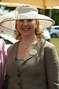 MRS. GEORGE PISKOVA, Lunch part hosted by Liz Brewer and Mrs. George Piskova in No; 1 car-park. . Royal Ascot. Tuesday. 14 June 2011. <br /> <br />  , -DO NOT ARCHIVE-© Copyright Photograph by Dafydd Jones. 248 Clapham Rd. London SW9 0PZ. Tel 0207 820 0771. www.dafjones.com.