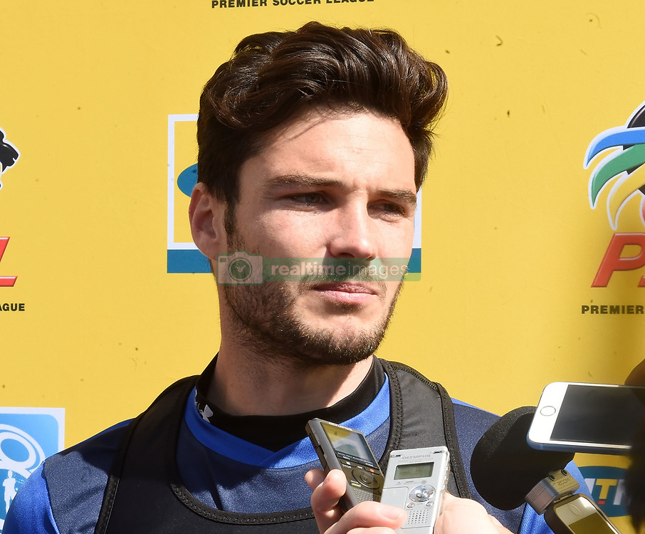 Cape Town-180823- Cape Town City player Roland Putsche talking about his team preparations for their up comingMTN 8 semi-final against Sundowns at Cape Town Stadum.Photographer :Phando Jikelo/African News Agency/ANA