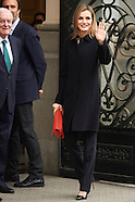 021815 Queen Letizia attends the Celebration of the 10th anniversary of Fundeu