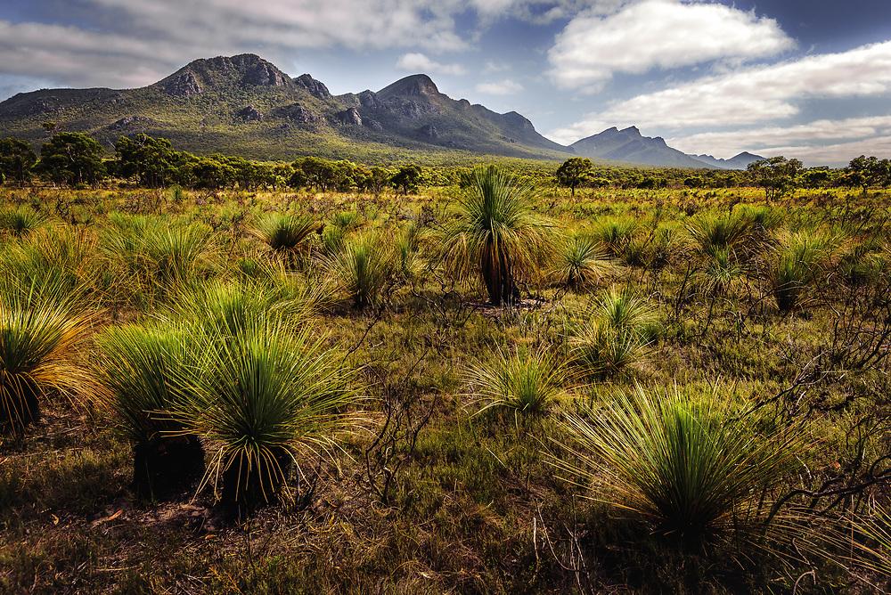Serra Range in  Southern Grampians, Victoria