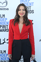 February 8, 2020, Los Angeles, California, United States: 2020 Film Independent Spirit Awards held at Santa Monica Pier..Featuring: Aubrey Plaza.Where: Los Angeles, California, United States.When: 08 Feb 2020.Credit: Faye's VisionCover Images (Credit Image: © Cover Images via ZUMA Press)