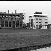 NLD/Huizen/19920113 - Bouwactiviteiten aan het Gooierserf Huizen