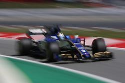 May 13, 2017 - Barcelona, Spain - Motorsports: FIA Formula One World Championship 2017, Grand Prix of Spain, .#9 Marcus Ericsson (SWE, Sauber F1 Team) (Credit Image: © Hoch Zwei via ZUMA Wire)