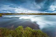 Laxa river in Myvatnssveit, Iceland