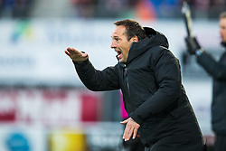 coach John van 't Schip of PEC Zwolle during the Dutch Eredivisie match between PEC Zwolle and Feyenoord Rotterdam at the MAC3Park stadium on March 18, 2018 in Zwolle, The Netherlands