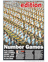 Another amazing scene from the 2008 Beijing Olympics. They certainly used their endless resources to great effect. (Copyright Michael Dodge/Daily Telegraph)
