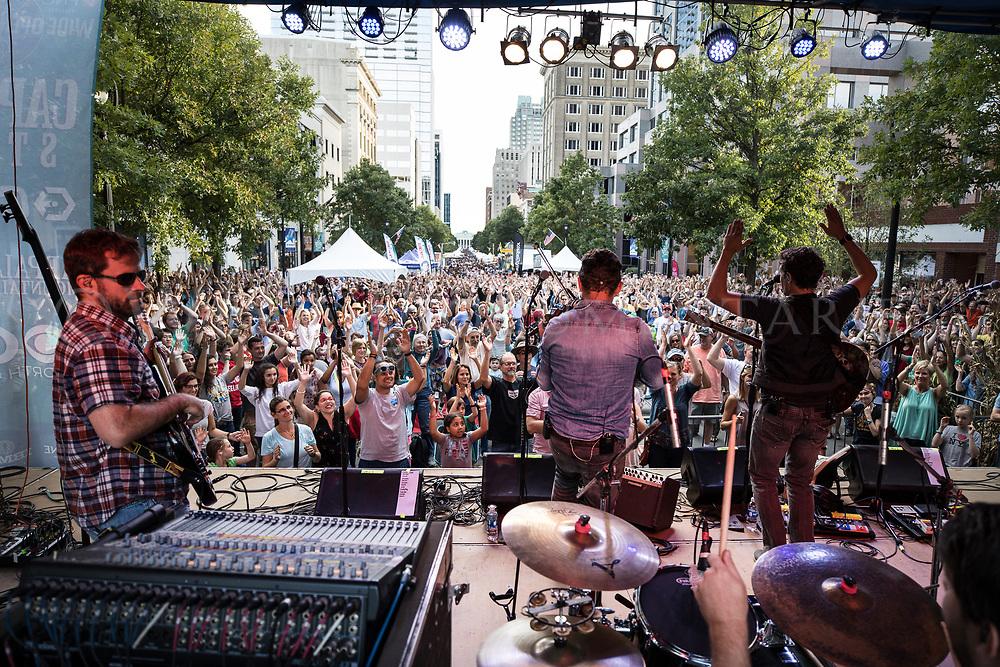 Wide Open Bluegrass Streetfest, part of the Wide Open Bluegrass music festival, Sept. 30, 2017. (Photos by - JOHN WEST)