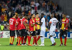 August 28, 2018 - Lens, France - Deception des joueurs de l equipe Lens (Credit Image: © Panoramic via ZUMA Press)