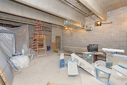 Central High School Bridgeport CT Expansion & Renovate as New. State of CT Project # 015-0174. One of 82 Photographs of Progress Submission 19, 31 August 2016 Mezzanine