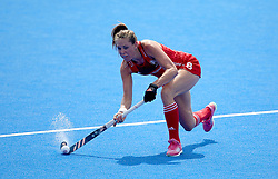 England Giselle Ansley during the Vitality Women's Hockey World Cup pool B match at The Lee Valley Hockey and Tennis Centre, London. PRESS ASSOCIATION Photo. Picture date: Saturday July 21, 2018. Photo credit should read: Steven Paston/PA Wire.