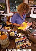 Kutztown PA Dutch Festival, Berks Co PA, Crafts, Painter Works