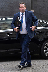 © Licensed to London News Pictures. 22/07/2020. London, UK. <br /> Parliamentary Secretary to the Treasury (Chief Whip) Mark Spencer is seen arriving at Downing Street in Westminster on the last day of Parliamentary business before the Summer holidays. Photo credit: Ray Tang/LNP