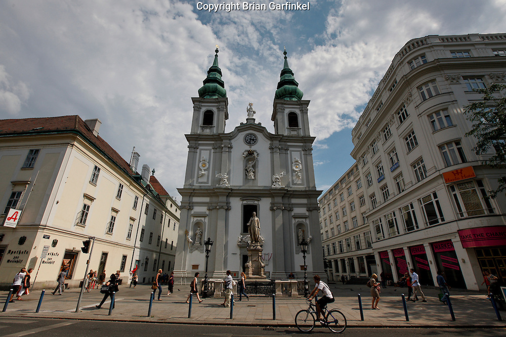 A church in Vienna, Austria on Thursday June 30th 2011. (Photo by Brian Garfinkel)
