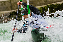 Jure LENARCIC (SLO) during Canoe Semi Finals at World Cup Tacen, 18 October 2020, Tacen, Ljubljana Slovenia. Photo by Grega Valancic / Sportida