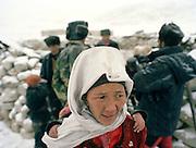The wife of the Afghan Kyrgyz Khan.