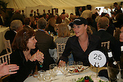 JODIE KIDD, Cartier Style et Luxe lunch. Goodwood.  24 June 2007.  -DO NOT ARCHIVE-© Copyright Photograph by Dafydd Jones. 248 Clapham Rd. London SW9 0PZ. Tel 0207 820 0771. www.dafjones.com.