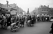 Housewives in 'Turnover Tax' Protest March.14.11.1963
