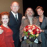 Musical Olivier Amsterdam, Marisca van Kolck, Joop van der Ende, Willem Nijholt en Janine