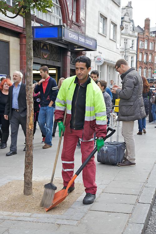 Litter Experiement, Camden High St