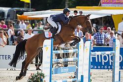 Johnstone Sarah (CAN) - Abarlo<br /> KWPN Paardendagen - Ermelo 2012<br /> © Dirk Caremans