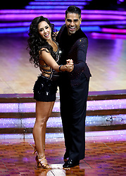 Dr Ranj Singh and Janette Manrara pose for photographers during a photocall before the opening night of the Strictly Come Dancing Tour 2019 at the Arena Birmingham, in Birmingham. Picture date: Thursday January 17, 2019. Photo credit should read: Aaron Chown/PA Wire