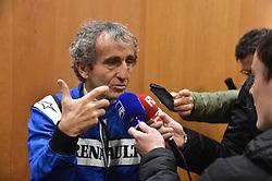 March 11, 2018 - Le Castellet, France - Alain Prost - Avant-premieres du GIP Grand Prix de France a Nice avec Alain Prost et Nico Hulkenberg (Credit Image: © Panoramic via ZUMA Press)