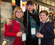 31/01/2018  retro free :  Magdalena Lupi Alvir with Vedrana Balen Spincic both from  Rijeka City Puppet Theatre and Maria Fleming, Chair of TYA Ireland<br />  at the launch of  at the launch of Wide Eyes, a unique one-off European arts extravaganza for babies and children aged 0 – 6. Hosted by Baboró, Wide Eyes will take place in Galway till Sun 4 February. This imaginative programme will feature 15 new theatre and dance shows from some of Europe's finest creators of Early Years work from Austria, Belgium, Denmark, Finland, France, Germany, Hungary, Italy, Poland, Romania, Slovenia, Spain, Sweden, UK and Ireland. For more see www.wideeyesgalway.ie<br /> <br /> Wide Eyes will welcome almost 200 artists and arts professionals from almost 20 countries to enthral and engage children over four jam-packed days. Photo:Andrew Downes, XPOSURE