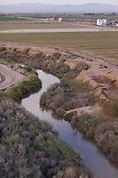The New River north of Brawley California