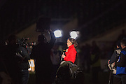 Twickenham, United Kingdom.  BBC, Women's Rugby sports programme presenter,  Women's RBS, Six Nations : England Women  vs France Women. at the  RFU Stadium, Twickenham, England, <br /> <br /> Saturday  04/02/2017<br /> <br /> [Mandatory Credit; Peter Spurrier/Intersport-images]