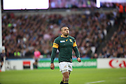 South Africa's Bryan Habana after almost scoring during the Rugby World Cup Pool B match between South Africa and USA at the Queen Elizabeth II Olympic Park, London, United Kingdom on 7 October 2015. Photo by Matthew Redman.