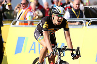 Arrival BOASSON HAGEN  Edvald (Nor) dejected during the 12th Tour of Britain 2015, Stage 5, Prudhoe - Hartside Fell (166.4Km) on September 10, 2015. Photo Tim De Waele / DPPI