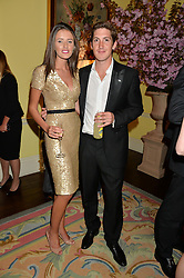 GEORGE MEYRICK and ISABELLA O'DUFFY at the Tatler Best of British party in association with Jaegar held at The Ritz, Piccadilly, London on 28th April 2015.